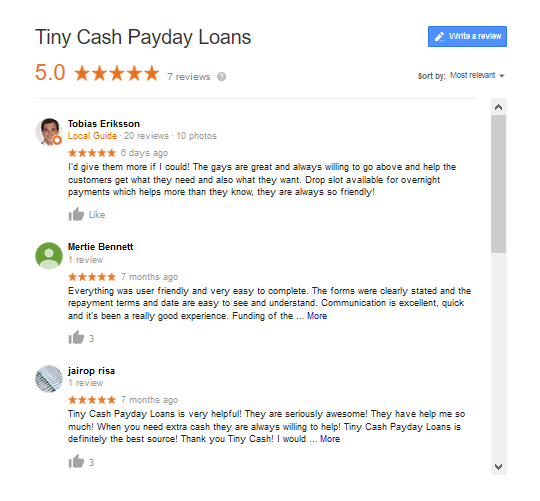 Tiny_cash_payday_loans_reviews_2019